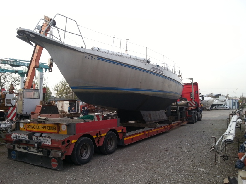 Abtransport Emden